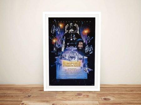 The Empire Strikes Back Framed Wall Art