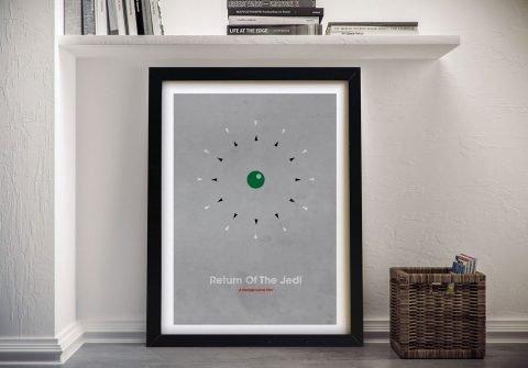 Typographic Return of the Jedi Poster