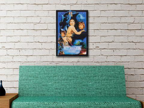 Star Wars Episode Vl Wall Art for Sale Online
