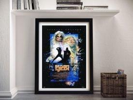 Special Edition Star Wars Episode Vl Film Poster