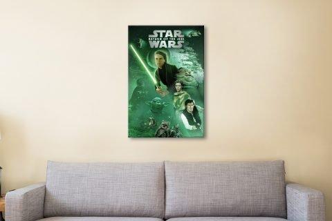Luke Skywalker Return of the Jedi Artwork