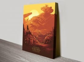 Star Wars Episode Vlll Canvas Wall Art