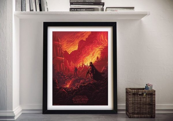 Colourful The Force Awakens Wall Art