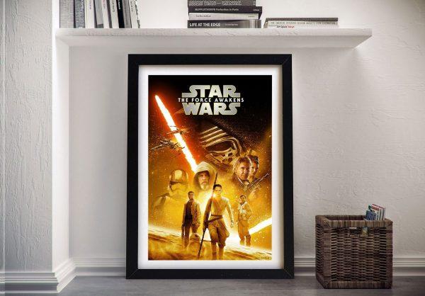 Star Wars Episode Vlll Movie Poster Print