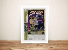 Retro Star Wars A New Hope Poster