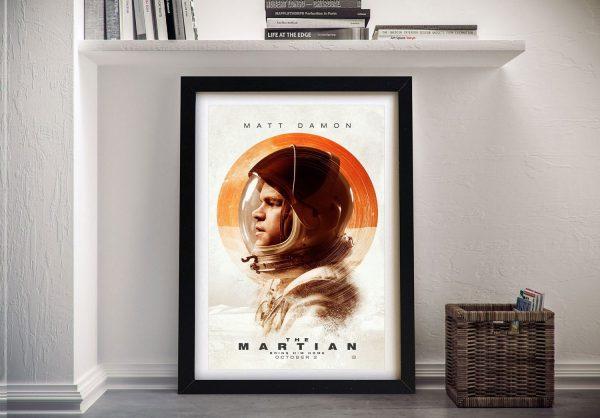 Buy The Martian Framed Film Poster Art Print