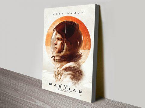 The Martian Ridley Scott Movie Poster