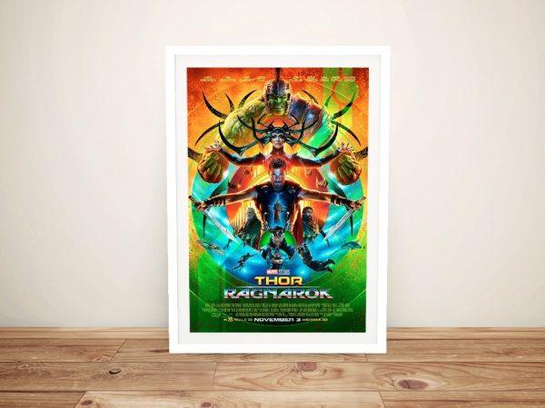 Framed Thor Ragnarok Poster Print