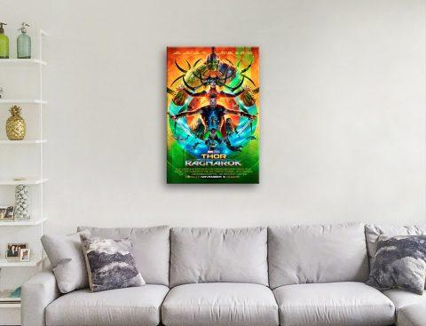 Thor Ragnarok Poster Affordable Gifts AU