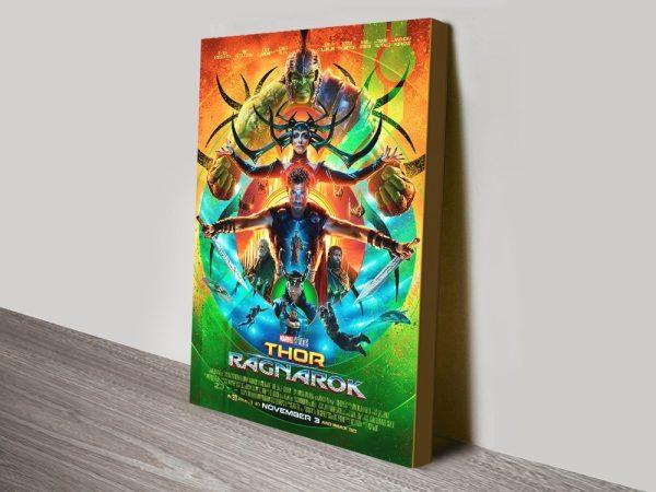 Thor Ragnarok Poster Ready to Hang
