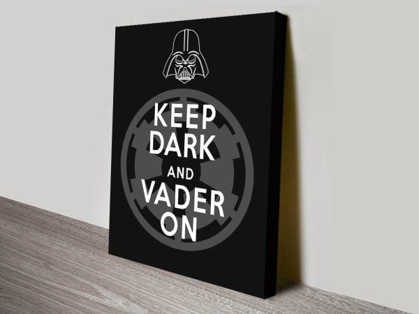 Affordable Darth Vader Wall Art Gift Ideas AU