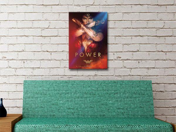 Ready to Hang Wonder Woman Poster Print