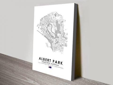 Albert Park Grand Prix Circuit Wall Art AU
