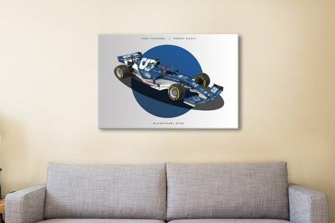 Ready to Hang Alpha Tauri F1 Art Online