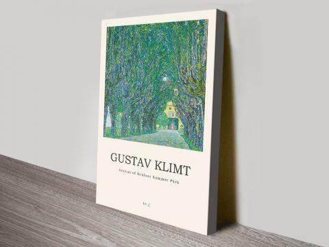 Gustav Klimt Modern Composition Wall Art