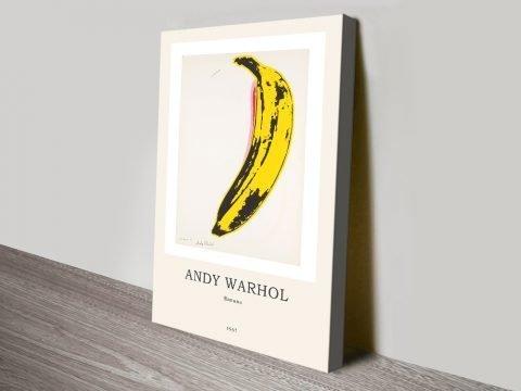 Banana Pop Art Modern Composition