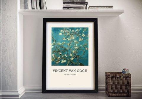 Framed Van Gogh Composition for Sale