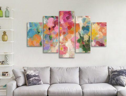 Colourful Garden Silvia Vassileva Abstract Art