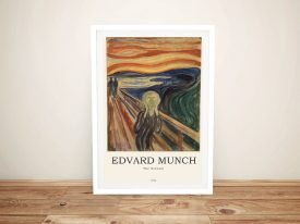 The Scream Composition Classic Art Print
