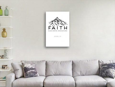 Faith Black & White Religious Art Online
