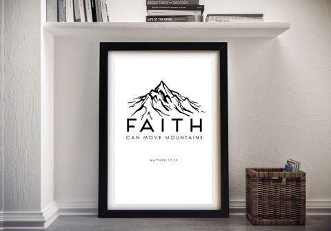 Affordable Framed Christian Wall Art AU