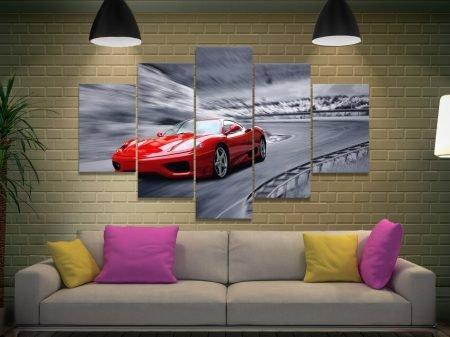 Buy a Ferrari F430 Split Panel Artwork