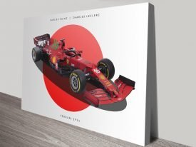 Buy a Ferrari F1 High-Resolution Art Print