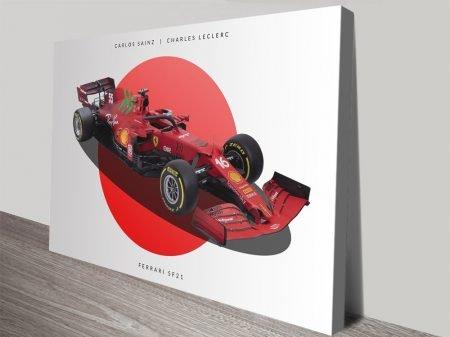 Buy a Ferrari F1 High-Resolution Art Print