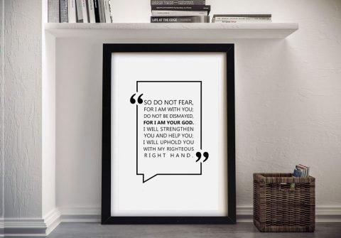 Framed Bible Quotes Unique Gift Ideas AU