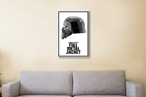Kylo Ren Helmet Affordable Star Wars Art