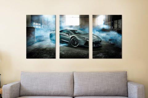 Lamborghini 3-Piece Art Set Cheap Online