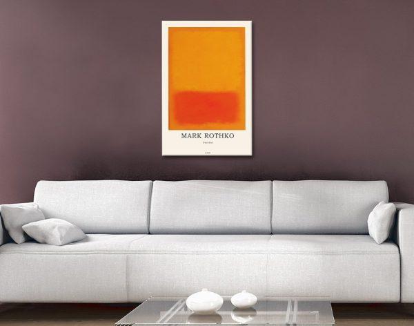 Ready to Hang Rothko Art Cheap Online