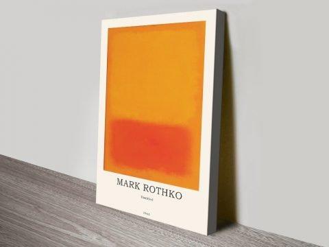 Yellow & Orange Rothko Composition Artwork