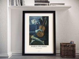 Framed Picasso Modern Composition