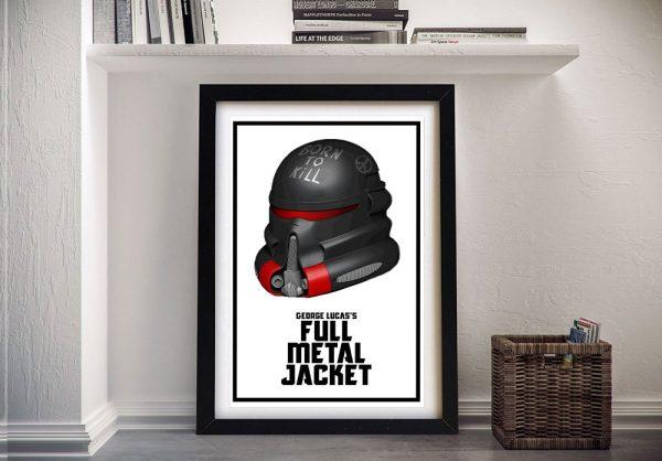 Star Wars Vs Full Metal Jacket Wall Art AU