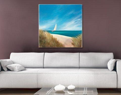 Sunday Sail Coastal Art Gift Ideas Online
