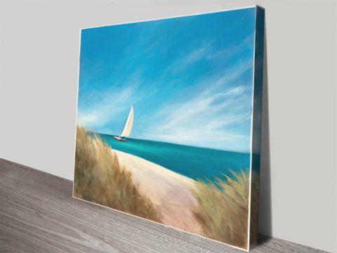 Sunday Sail Canvas Art Home Decor Ideas AU