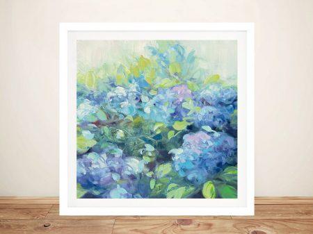 Buy Bright Hydrangea ll Julia Purinton Art