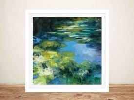 Water Lilies ll Framed Fine Art Print