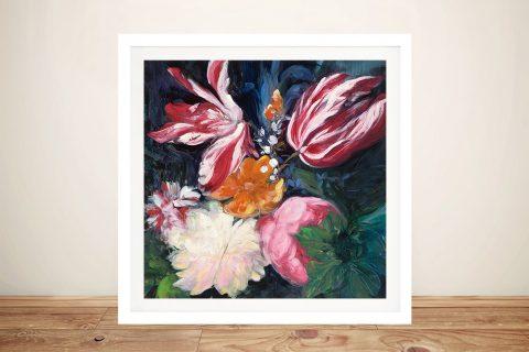 Buy Floral Fun ll Framed Fine Art for Sale AU