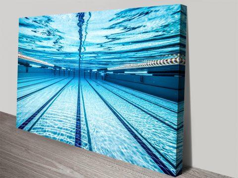 Underwater Print on Canvas Home Decor AU