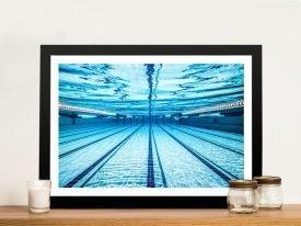 Swimming Pool Underwater Wall Art