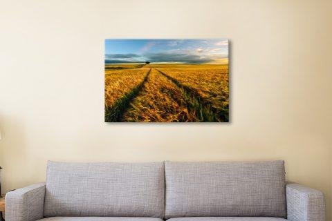 The Wheat Path Wall Art Home Decor Ideas AU