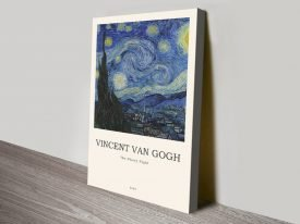 Van Gogh Starry Night Art Composition