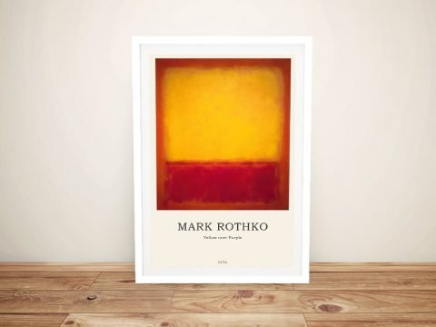 Framed Rothko Colour Fields Compositions