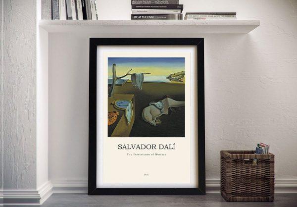 Framed Dali Modern Composition Art Online