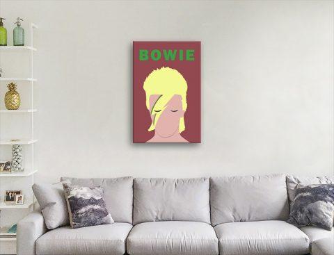 David Bowie Stylised Pop Art Home Decor AU