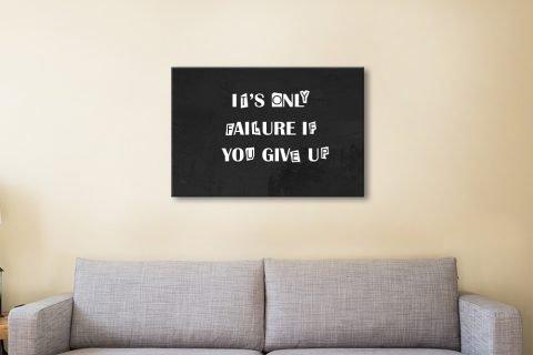 It's Only Motivational Art in Black & White