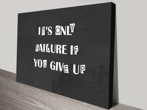 Affordable Motivational Art Corporate Decor AU