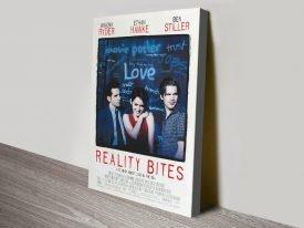 Reality Bites Movie Poster Art